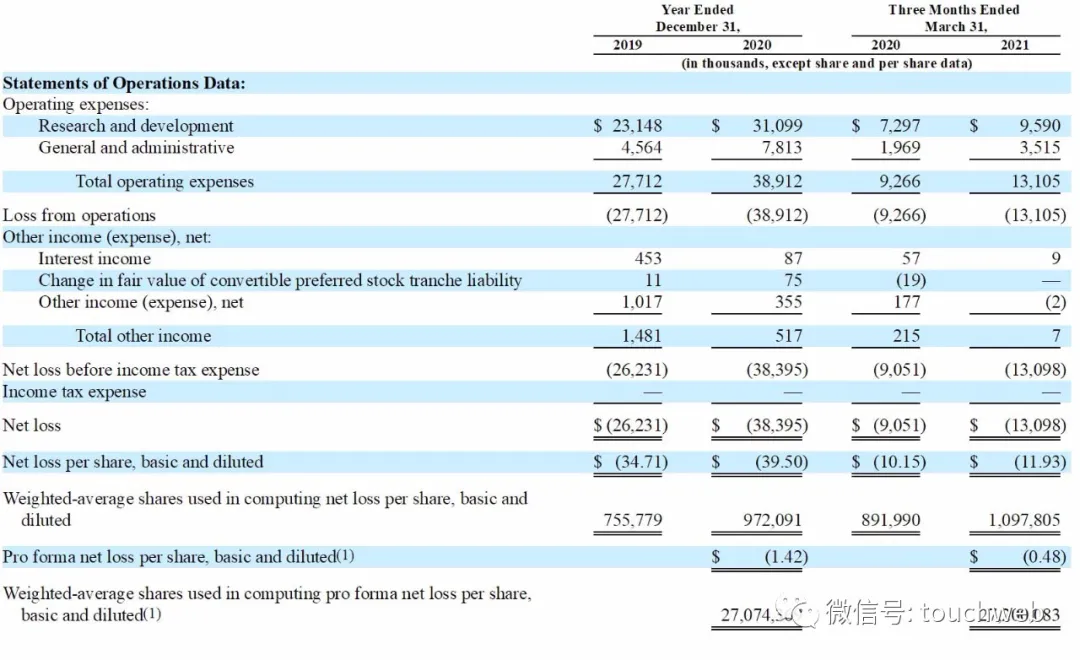 基因疗法企业Tenaya冲刺美股:年亏3840万美元 路演PPT曝光